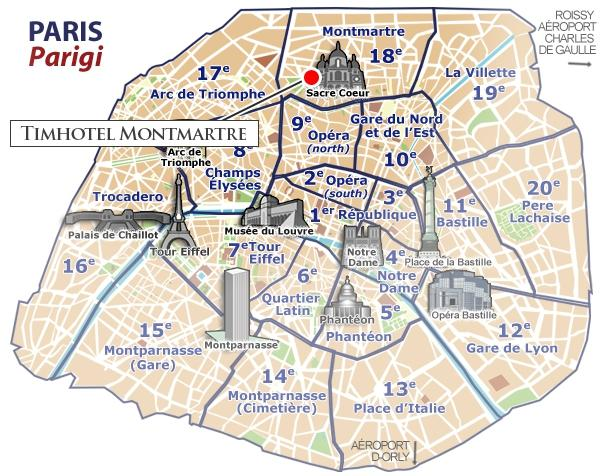 location timhotel montmartre hotel paris